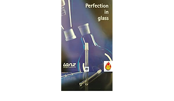 Glass Ground Joint M10/19 Inner on 8mm(OD) x 1.5mm(WALL) x 115mm(LENGTH): Amazon.com: Industrial & Scientific