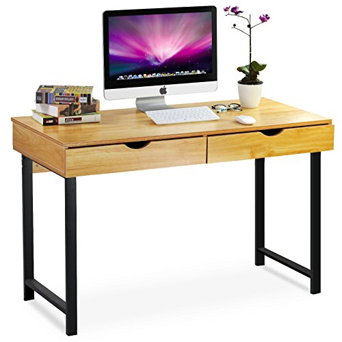 Tribesigns Computer Desk Modern Stylish 47 Home Office