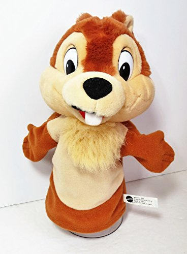 """11"""" 1993 Chip (Chip N Dale) Hand Puppet by Mattel - Chip ..."""