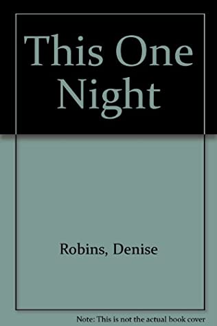 book cover of This One Night