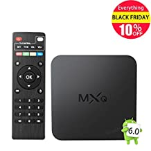 2017 Model GooBang Doo MXQ Android 6.0 TV Box,Amlogic S905X 64 Bits Quad Core and Supporting 4K (60Hz) Full HD /H.265 /WiFi 2.4GHz ¡­