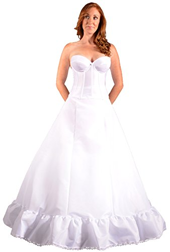 Alfred Angelo Bridal Coats (Bridal Dresses Petticoat Crinoline Slip for Wedding Dress Ball Gown, Made in USA. Proper Fullness Makes Optically Smaller Waist, Shows Bridal Dress Embellishments and Prevents Costly Hem Alterations. Give Your Dress the Shape it Needs - Buy Now!)