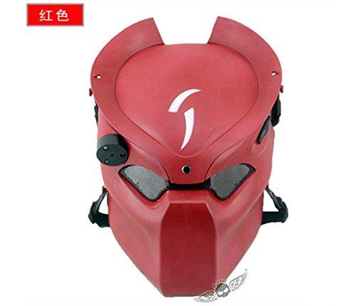 Lone Wolf Mask (2015 - Alien dance mask vs Predator mask lone wolf mask protective mask CS field Infrared Lamp)