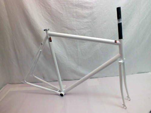 Kilo Stripper Frame Track NIB 55cm White Splash Gloss White with heavy pearl