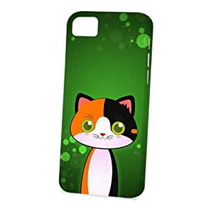 linJUN FENGCase Fun Apple iphone 6 4.7 inch Case - Vogue Version - 3D Full Wrap - Calico Cat by DevilleART