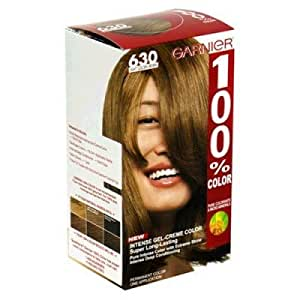 Amazon.com: Garnier 630 Light Golden Brown Hair Dye  Hair Color: Health  Personal Care