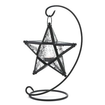 Gifts & Decor Tabletop Starlight Standing Candleholder Lantern Lamp