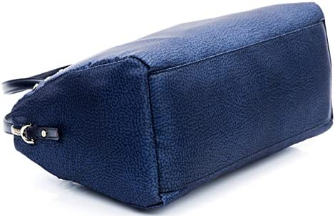 Borbonese Borsa spalla tracolla donna Bauletto Bag jet op pelle Rossa