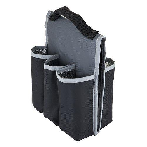 Beer Carriers, Insulated Beer Gear 6 Pack Bike Carrier Bottle Beer Carrier Bag by TRUE-BRANDS