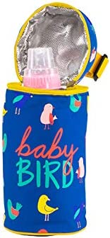 About Face Designs Baby Bird Thermal Bottle Bag Blue