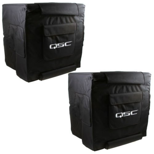 QSC KW181 Soft Nylon Subwoofer Cover PAIR by QSC