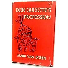 Don Quixote's Profession