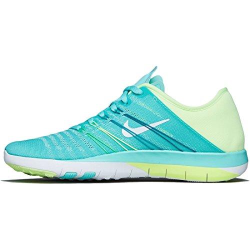 Nike Womens Gratis Tr 6 Joggesko Joggesko Størrelse: 11 Grønn / Volt
