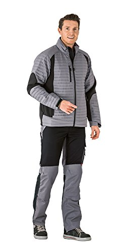 Planam 3671040 Air Jacket''Outdoor'' Size In XS, Zinc/Black by Planam