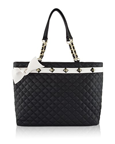 Quilted Bow Bag - 1