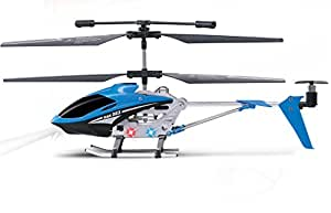 Haktoys HAK303 Mini 3.5 Channel RC Helicopter, Easy & Ready to Fly, with Gyroscope - Colors May Vary