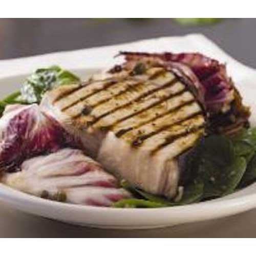 Trident Seafoods Skin On Bonless Swordfish Steak - 20 of 8 Ounce Pieces, 10 Pound -- 1 each.