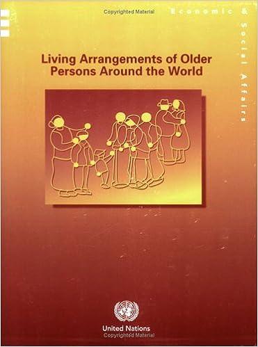 Last ned fulltekst ebooks Living Arrangements of Older Persons Around the World. (Population Studies) (Population Studies Series) PDF 9211514126