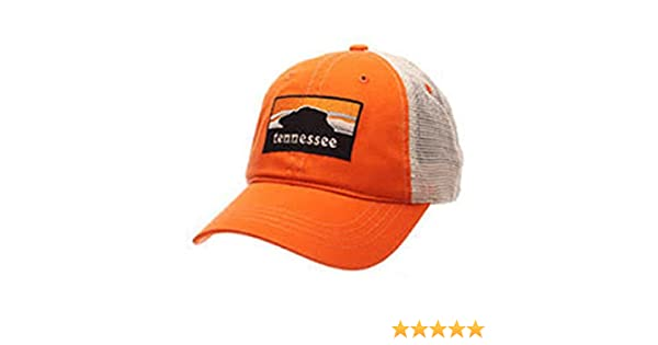 new concept abdff 30845 Amazon.com   Tennessee Volunteers NCAA The Rock Landmark Washed Zephyr Hat  Cap   Clothing