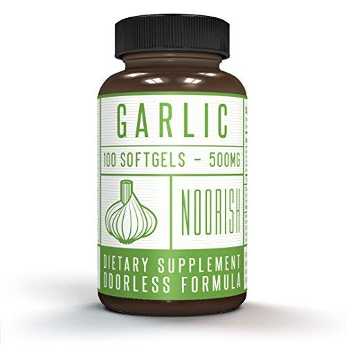 Odorless Garlic Pills - Garlic and Parsley - Premium Garlic Supplement - 500mg 100 Count