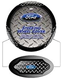 Ford Blue Oval Logo Vehicle Car Truck SUV Auto Universal Fit Steering Wheel Cover