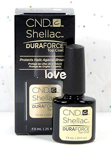 CND Shellac GelColor Nail Polish/Base/Top/Brand New Gel Color #2 - Choose Any Small DuraForce Top Coat 0.25oz ()