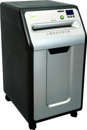 GoECOlife GXC205Pi Platinum Series 20-Sheet Under Desk Commercial-Grade Crosscut Paper Shredder