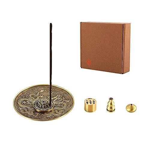 MEDOOSKY Stick Incense Burner and Cone Incense Holder, Gift Set - Incense Set