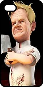 Chef Ramsey Cartoon Tinted Rubber Case for Apple iPhone 5 or iPhone 5s