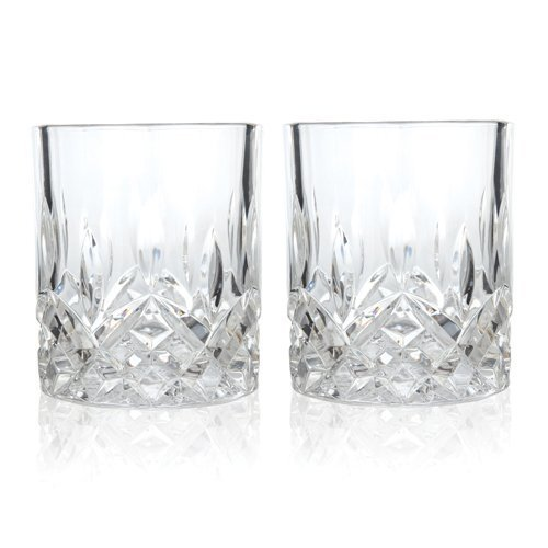 Viski Admiral Crystal Tumblers True Fabrication 4289