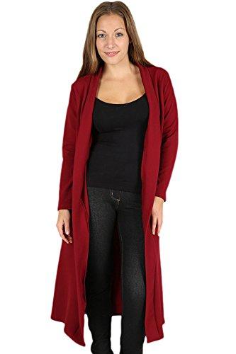 Abrigo Parsa Para Fashions Mujer Rojo rrH574n