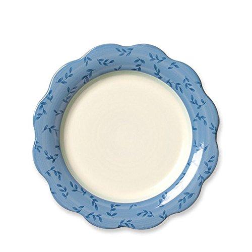 Pfaltzgraff Summer Breeze Scalloped Salad Plate, 9-Inch