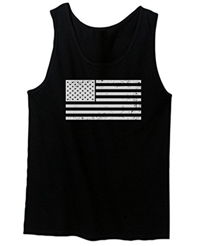 Vintage-White-USA-Flag-american-flag-united-states-of-america-mens-Tank-Top
