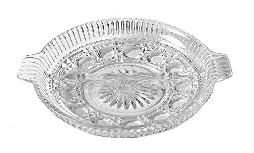 (Federal Glass Windsor Clear Glass (2-Part Relish Dish) )