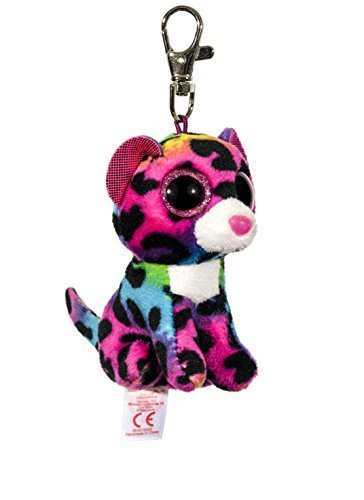 Carletto Ty 35012 Dotty Beanie Boos - Peluche de Leopardo con Ojos saltones (8.5 cm), Multicolor: Amazon.es: Juguetes y juegos