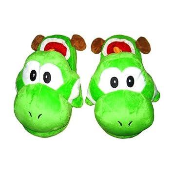 583c258a0d8ee Pantoufles Yoshi Super Mario Bros  Amazon.fr  Jeux et Jouets