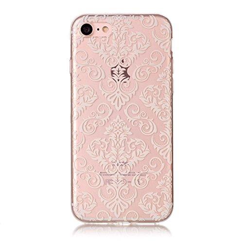 Custodia iPhone 7 / iPhone 8 , LH TPU Trasparente Silicone Cristallo Morbido Case Cover Custodie per Apple iPhone 7 / iPhone 8 4.7