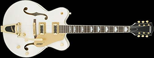 (Gretsch G5422TG Electromatic Hollowbody Double-Cut with Bigsby - Snowcrest White)