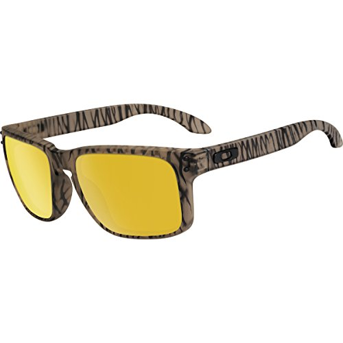 Oakley Men's Holbrook Matte Sepia Urban Jungle/24K Iridium - Oo9102 Oakley Sunglasses Holbrook