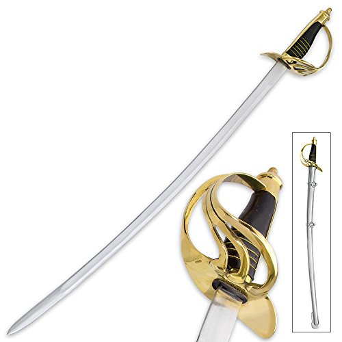 US Model 1860 Light Cavalry War Replica Sword