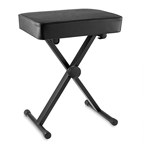 Check Out This Hamzer Premium Heavy Duty Adjustable Piano and Keyboard Bench Seat