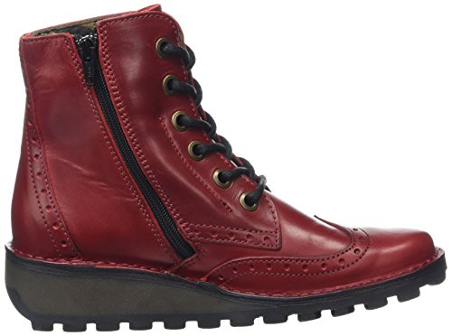 Women's Red Boots Ankle Red Marl Fly 003 London xgWBOvOA