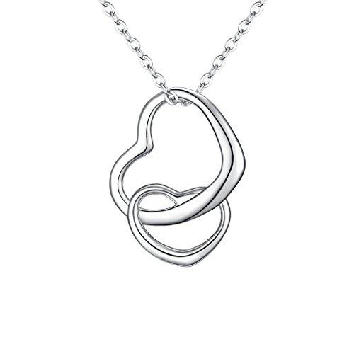 Crystal Open Heart Charm - 9