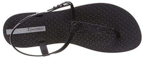 Sandal Ipanema Women's Flat Shimmer Black black Ygtgwq4