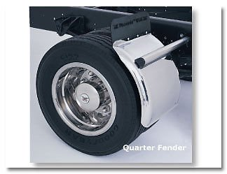 PHOENIX QF-21, STAINLESS STEEL TRUCK, ROLL BACK, CARRIER QUARTER FENDERS - 16