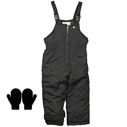 insulated bib overalls toddler - 4