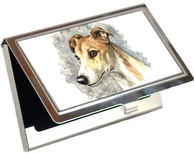 Greyhound Business Card / Credit Card Case by Canine Designs