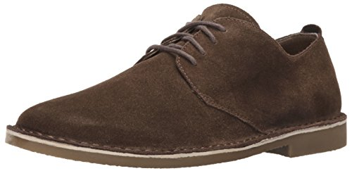Mens Nunn Bush Gordy Oxford Scamosciato Marrone Scuro