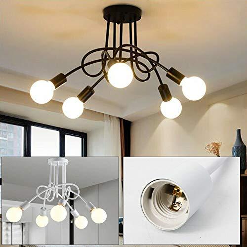 5 Heads E27 Vintage Ceiling Light Hanging Chandelier Pendant Fixture Parlor Bar Lamp Morden Art Chandelier Pendant Lamps Ceiling Chandeliers ()