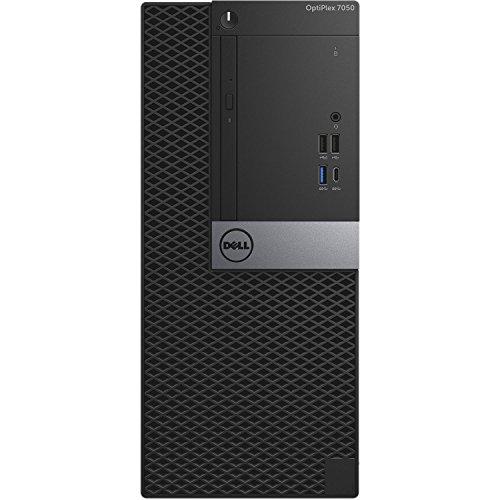 Dell Optiplex 7050 Tower Desktop – 7th Gen Intel Core i7-7700 Quad-Core Processor up to 4.2 GHz, 32GB DDR4 Memory, 2TB SATA Hard Drive, Intel HD Graphics 630, DVD Burner, Windows 10 Pro